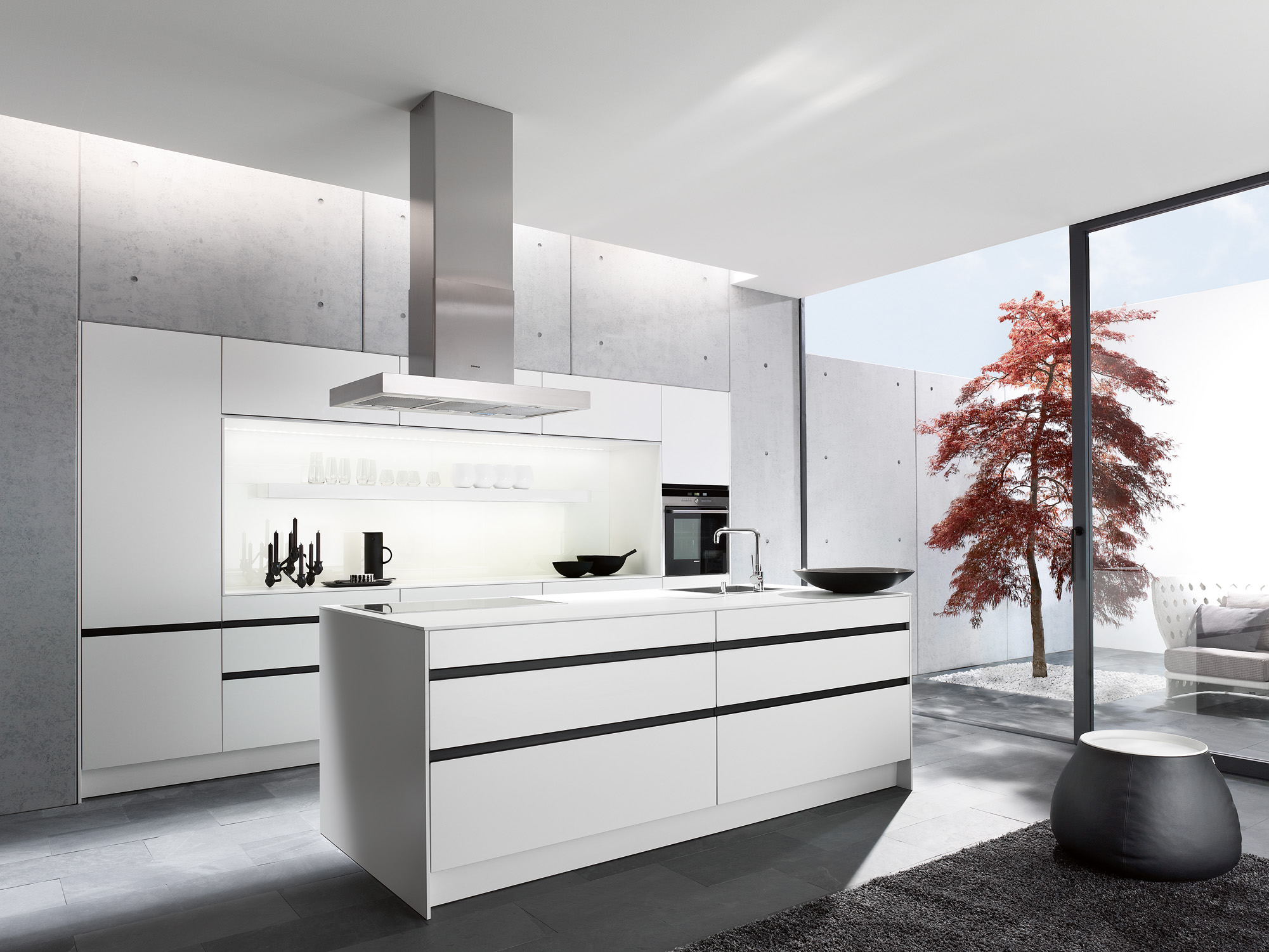 siematic im stilwerk galerie. Black Bedroom Furniture Sets. Home Design Ideas